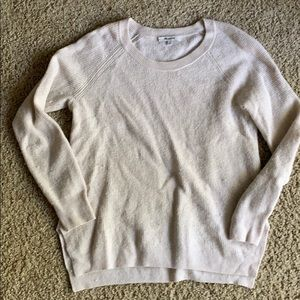 Medium madewell cream knit sweater